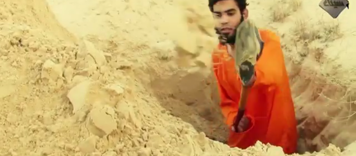 ISLAMIC STATE IN THE SINAI EXECUTES ALLEGED SPY